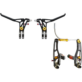KCNC VB1 V-Brake Set d'autocollants, black